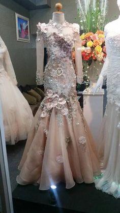 Wedding Gown Muslim Hijab Fashion 27 Ideas For 2019 Muslimah Wedding Dress, Muslim Wedding Dresses, Muslim Dress, Bridal Dresses, Wedding Gowns, Prom Dresses, Muslim Hijab, Stylish Dresses For Girls, Lovely Dresses