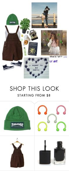 """""""🐸"""" by ideallylovely ❤ liked on Polyvore featuring GET LOST and Vans"""