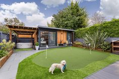 View our garden annex gallery and case studies and get inspired with our stunning buildings. View our ideas gallery here. Smart Garden Offices, Garden Office Shed, Backyard Office, Backyard Studio, Garden Studio, Hot Tub Garden, Sunken Garden, Outdoor Movie Screen, Back Garden Design