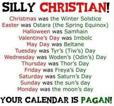 Silly Christians