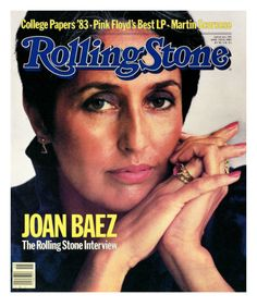 Joan Baez, Rolling Stone no. 393, April 1983