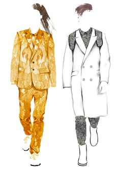 Fashion Illustration - Little Doodles