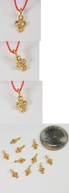 Armenta Large Bone Buddha Champagne Diamond Enhancer sLzK0Q8F