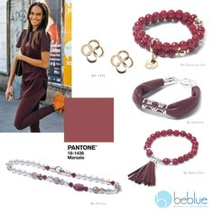 Beblue Jewelry offers handmade high-end sterling silver, mother-of-pearl, leather and gold jewelry. All Beblue's jewelry is made in Canada. Summer 2015, Spring Summer, Pantone 2015, Leather Fringe, Marsala, Jet Set, Boho Chic, Pearls, Sterling Silver