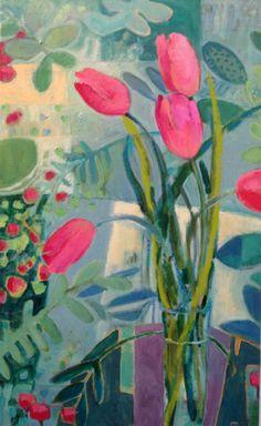 """Sunrise Serenade"", oil on canvas, Annie O'Brien Gonzales, http://www.annieobriengonzales.com"