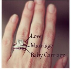 Love, marriage and baby carriage