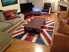 1Union Jack Vintage patchwork carpet
