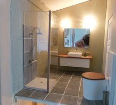 my dream world - great modern bathroom!