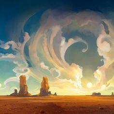 racconti fiabe filastrocche e.. non solo: Com'è nato il deserto (leggenda araba)