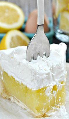 Lemon Marshmallow Meringue Pie