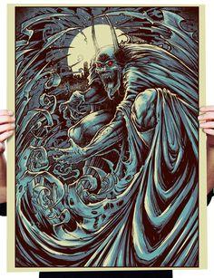 Very Dark Series of Creepy Batman Art by Godmachine