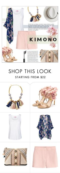 """""""Untitled #518"""" by millilolly ❤ liked on Polyvore featuring Lizzie Fortunato, Rupert Sanderson, adidas, BLANK, H&M, Calypso Private Label and Chanel"""