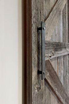 Barn Door Hardware — Barn Door Hardware, Custom Doors and Furniture Bathroom Barn Door, Barn Door Closet, Diy Barn Door, Barn Door Handles, Sliding Barn Door Hardware, Sliding Glass Door, Sliding Doors, Old Barn Doors, Closet Remodel