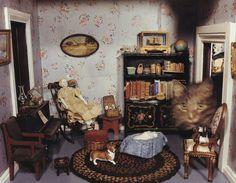 mini dollhouse room dioramas - Google Search
