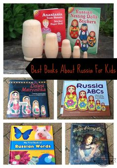 Did you know the Russian alphabet has 33 letters? Find out even more by reading this wonderful collection of books about Russia.