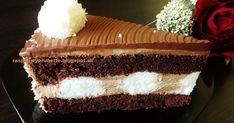 Veľmi jemná, lahodná torta, vďaka jemnej nugátovej plnke, šťavnatým kokosovým guličkám a skvelému sacher korpusu, ktorý nikdy ne...