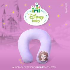 Almofada de Pescoço Disney 😍 Conforto e segurança para o bebê!  Tamanho Único  Cód: 2655    Acesse o site 👉 www.lojapapi.com.br, procure pelo código 2655 e conheça outros personagens Disney!      #princess #princesas #disney #enxovaldebebe #bebe #mamae #baby #lojapapi #papitextil #confortodobebe #sofia #princesinhasofia #lojapapi #papitextil #bebe #baby #conforto #mamae