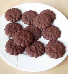 Sablés viennois au chocolat de Pierre Hermé