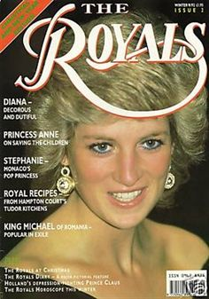 Princess Diana cover - I had this magazine (I might still have it)