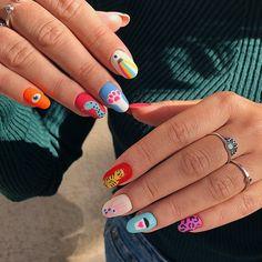 Different Acyrlic Nail Nail Design Stiletto, Nail Design Glitter, Hair And Nails, My Nails, Acryl Nails, Fire Nails, Minimalist Nails, Best Acrylic Nails, Stylish Nails