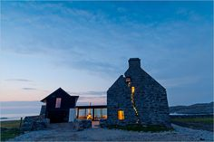 My favourite building... The White House by WT Architecture (Edinburgh) located on the Isle of Coll.