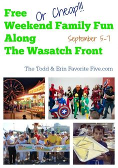 Free--Or Cheap--Weekend Family Fun Along The Wasatch Front