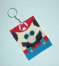 Chaveiro Mario Bros