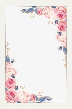 Flower borders,Beautiful border,Small fresh border,Hand-drawn border,Watercolor border, border