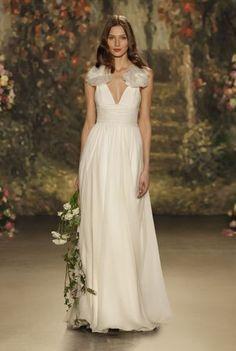 Elige uno de estos vestidos de novia corte imperio 2016: un look muy romántico Image: 7