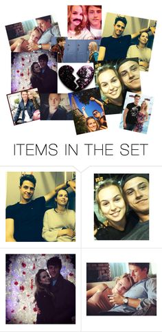 """Bridgit Mendler and Shane Harper"" by nohealani2003 ❤ liked on Polyvore featuring art"