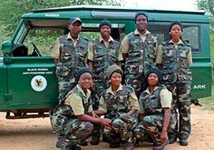 The Black Mambas: An all woman anti poaching patrol. 17 Badass Women You Probably Didn't Hear About In 2015