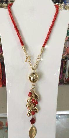 Rope Jewelry, Jewelry Crafts, Jewelery, Jewelry Necklaces, Vintage Wedding Jewelry, Wedding Jewelry For Bride, Bridal Jewelry, Diy Necklace, Necklace Designs