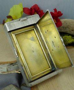 Imperial Russian 84 Zolotniki (.875 fine) Silver Combo Vesta / Cigarette Case!! #CyrillicMakersMakerPresent