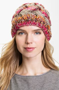 Laundry by Shelli Segal Cable Knit Beanie available at #Nordstrom