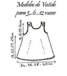 SOLO ROPITA DE BEBE EN PUNTO, GANCHILLO Y TELA (pág. 2677) | Aprender manualidades es facilisimo.com
