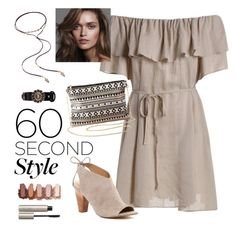 """Desert Beauty"" by jessitrev on Polyvore featuring Franco Sarto, Mudd, Charlotte Russe, Alexander McQueen, Ilia, 60secondstyle and PVShareYourStyle"