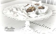 diy shabby french cake stand, crafts, painting