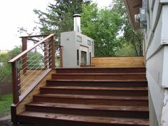 Exotic Hardwood Decking supplied by Kayu Canada Inc.