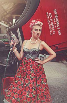 Jan Špatenka a syn, spol. s. r. o. – Sbírky – Google+ Trucks And Girls, Pin Up, Strapless Dress, Formal Dresses, Lady, Inspiration, Vintage, Collection, Google