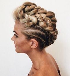 Hairstyle , bohemian hairstyle ,