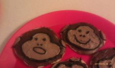 Monkey Cookies for a baby shower