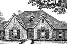 House Plan 310-529 outside