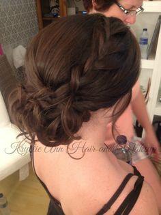Hair: www.krystieann.com  Wedding hair, bridal hair, updo, wedding updo, bridal updo, braided updo, beach wedding hair, punta cana wedding, jellyfish punta cana, jellyfish weddings, bridesmaid hair, prom hair