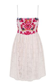 Embroidered Dress at Miss Selfridge