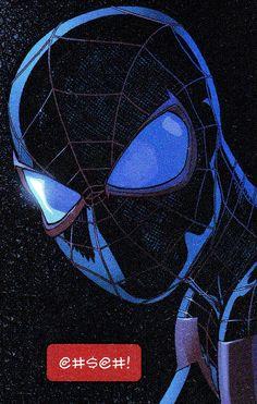 Marvel E Dc, Marvel Fan Art, Dc Comics, Miles Morales Spiderman, Brian Michael Bendis, Shirt Pins, Spider Verse, Amazing Spider, Cool Art