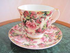 Alice in Wonderland Vintage Royale Garden by NicoleNicoletta, $15.00