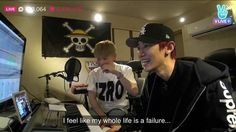 this broadcast just got relatable #exomentary #exo #chanyeol