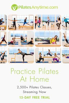 2,500+ Online Pilates Classes For All Levels