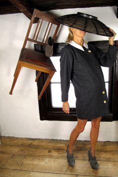 #Free pattern for Miu Miu inspired coat dress at sisterMAG Advent Calendar