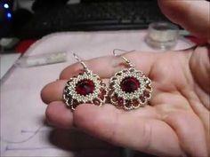 Orecchini Lotus (DIY - Lotus Earrings) - YouTube